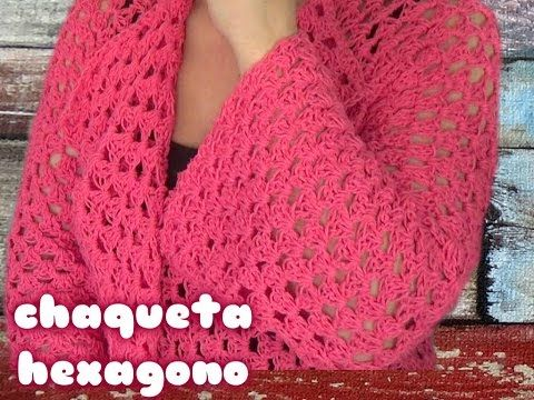 TEJE CHALECO ROJO (KNITTED VEST WITH ENGLISH SUBTITLES) - Crochet fácil y rápido - YouTube