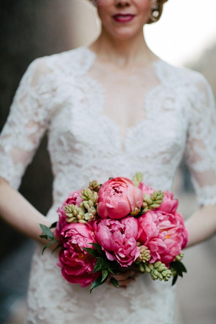 Stunning peony bouquet. Photography: Judith Rae - judithrae.com  Read More: http://stylemepretty.com/2013/10/14/bucks-county-pennsylvania-from-judith-rae/