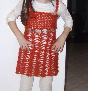 Girl's crocheted little dress https://www.facebook.com/pages/%CE%A0%CE%BB%CE%B5%CE%BA%CF%84%CE%B5%CF%82-%CE%94%CE%B7%CE%BC%CE%B9%CE%BF%CF%85%CF%81%CE%B3%CE%B9%CE%B5%CF%82-Andrianas-Creations/355227501235306