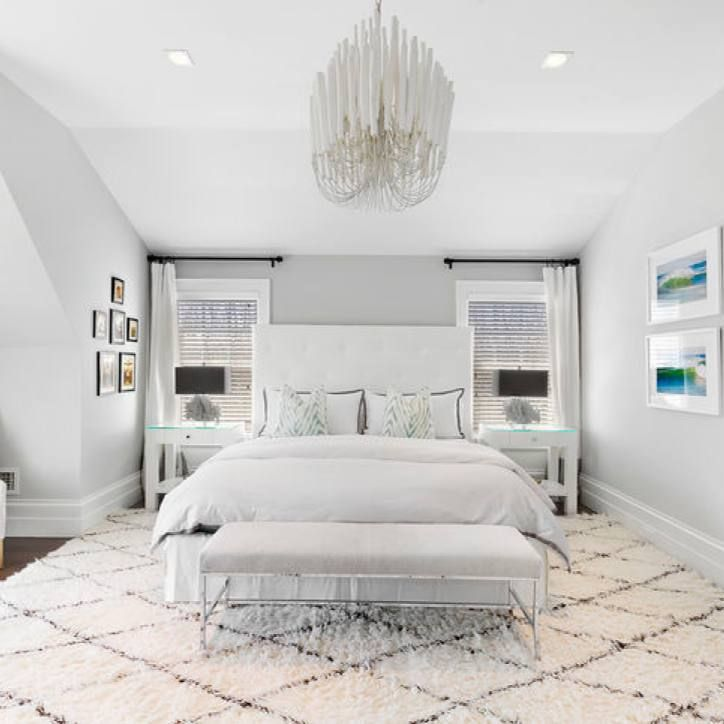 Room Redo All White Modern Master Bedroom Modern Master Bedroom White Bedroom Design Master Bedroom Minimalist