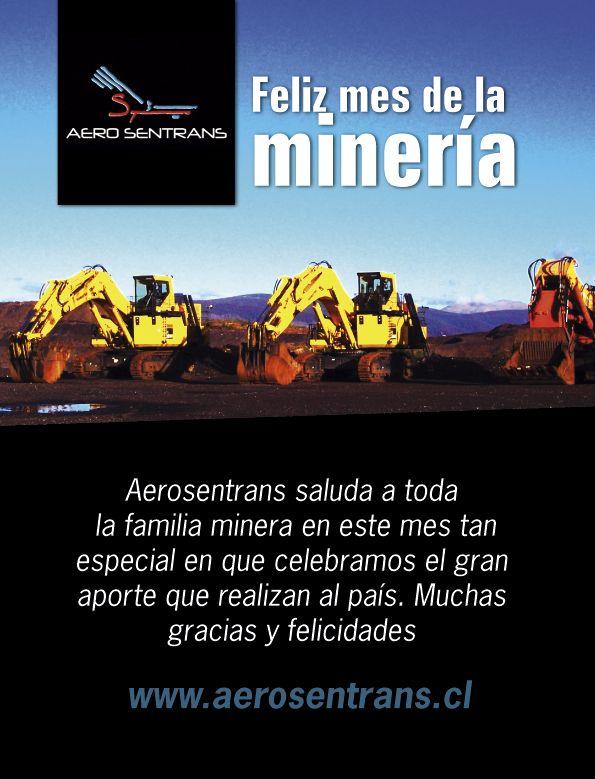 Aerosentrans festeja el Mes de la Minería