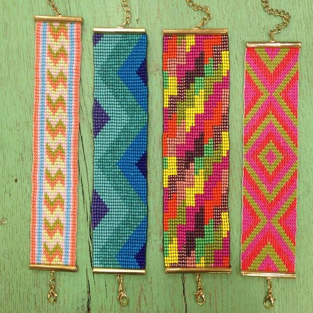 Bindy Aztec Beaded Bracelets