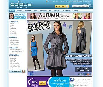 ezibuy-website #ecommercewebsite design