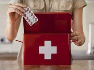 COMPOSITION D'UNE TROUSSE DE SECOURS - Pharmacies Giphar