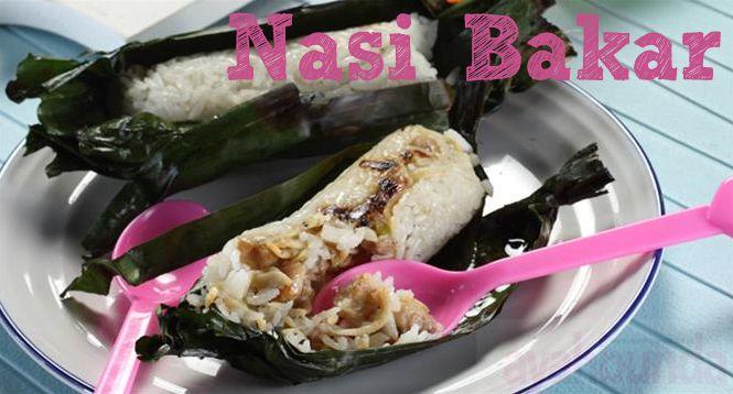 Nasi Bakar :: Roasted Rice :: Klik link di atas untuk mengetahui resep nasi bakar