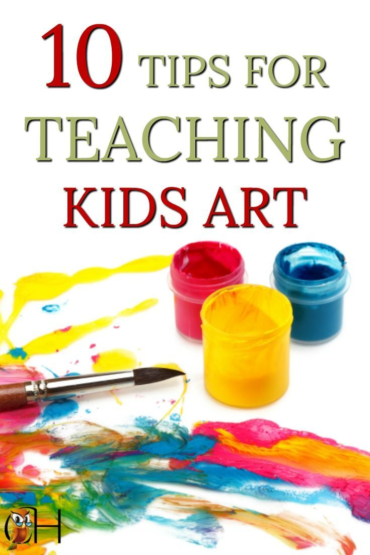 If you're struggling to teach kids art, use these 10 tips to turn your art studies around. Your kids will soon be creating art in their free time. #teachart #art #homeschoolart via @classichomesch
