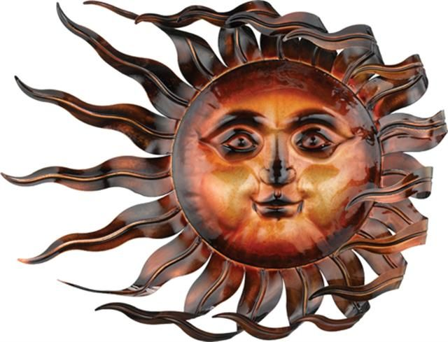 metal sun decor for my wallz
