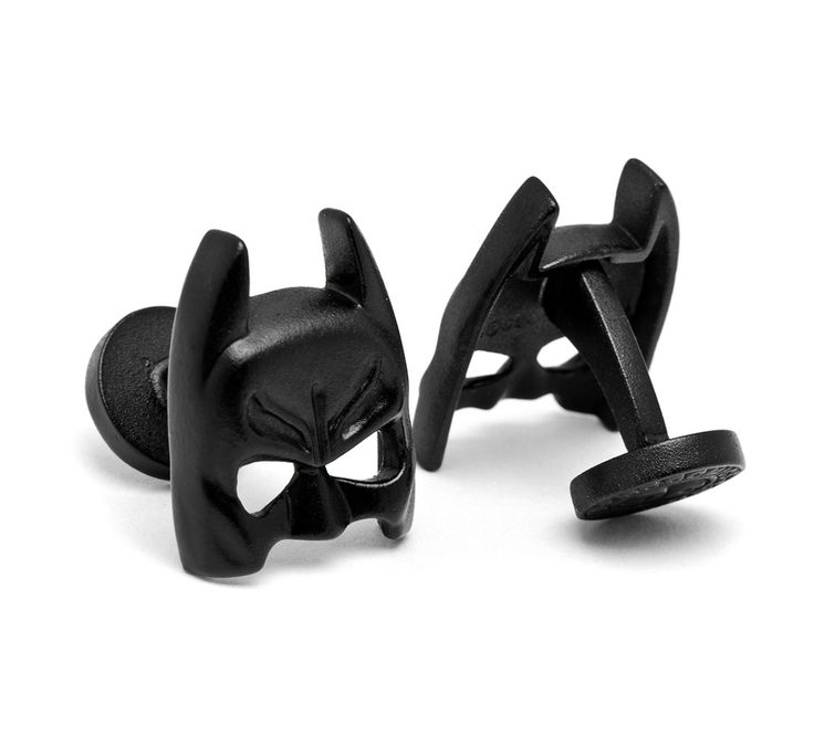 Batman Satin Black Mask Cufflinks BY DC COMICS