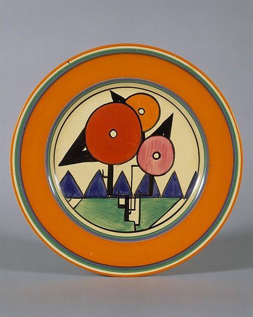 Plate Designer: Clarice Cliff  (British, 1899–1972)