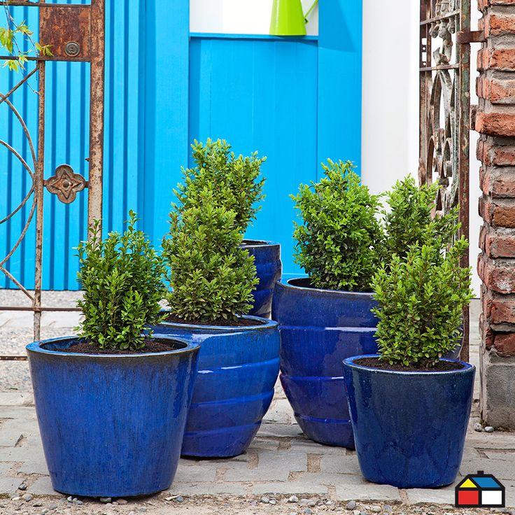 #Maceteros colección Stoneware #Jardin #Terraza
