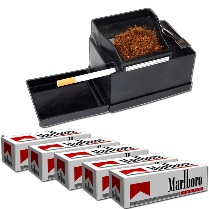 POWERMATIC 2 Machine à tuber + 1000 tubes Marlboro in | eBay