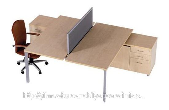 Modern İkili Çalışma Masası