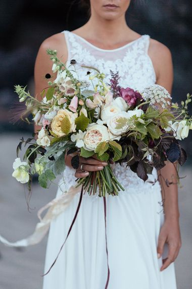 The Blue Carrot | Cornish Wedding Floral Designer
