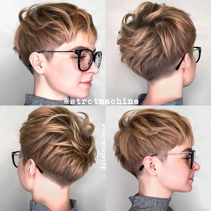 10 new short hairstyles for thick hair, women haircut ideas