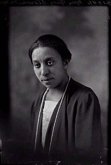 Lucy Diggs Slowe (1885-1937) One of the original 16 founders of the Alpha Kappa Alpha Sorority, the first sorority founded by African-American women.  In 1922, Slowe was appointed the first Dean of Women at Howard Univeristy.  She was also a tennis champion, winning the national title of the American Tennis Association's first tournament in 1917.