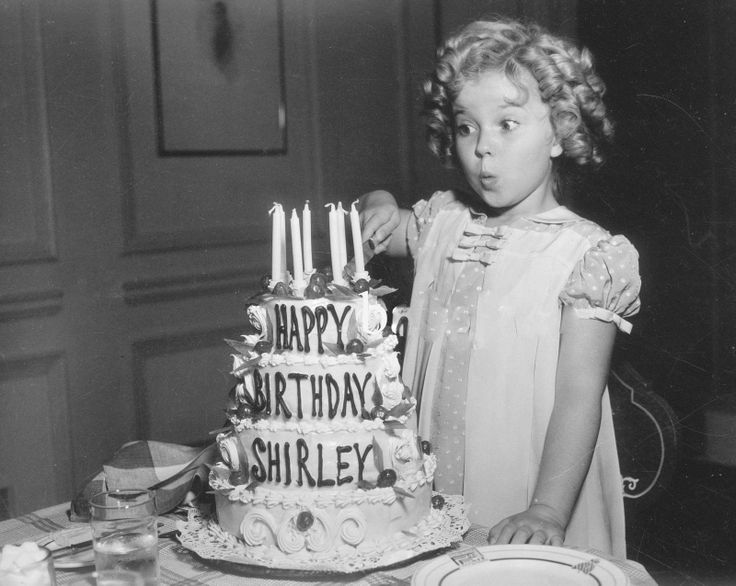 Shirley Temples Birthday Cake In The Little Princess
