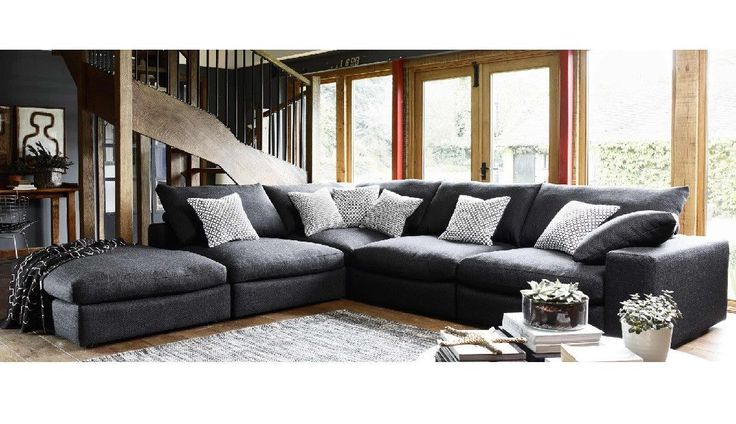 Haymarket Extra Deep Sofa from Darlings of Chelsea