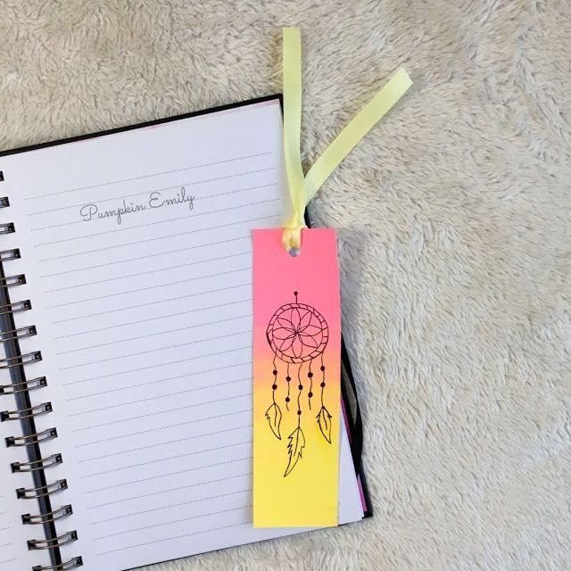 Pumpkin Emily 3 Easy Diy Bookmark Ideas Handmade Bookmarks Diy Bookmarks Handmade Creative Bookmarks