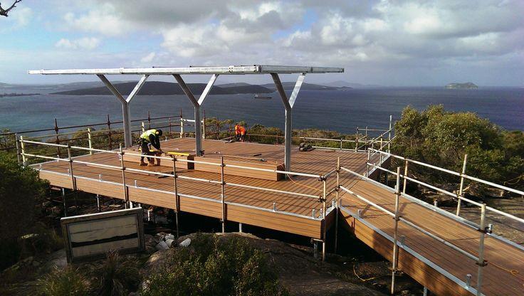Trex Tiki Torch Albany ANZAC Memorial Lookout