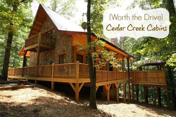 {Worth the Drive} Cedar Creek Cabins in Helen, #Georgia