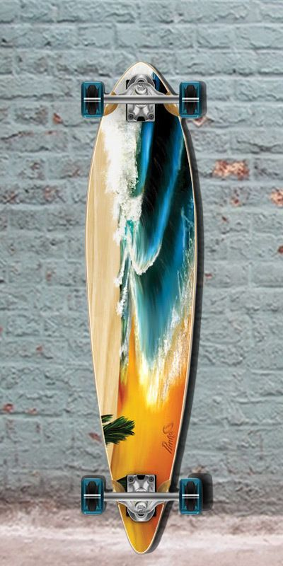 """Pintail Longboard Beach from Punked 40"""" - Complete, $105.00 (http://longboardsusa.com/longboards/longboards-for-beginners/pintail-longboard-beach-from-punked-40-complete/)"""