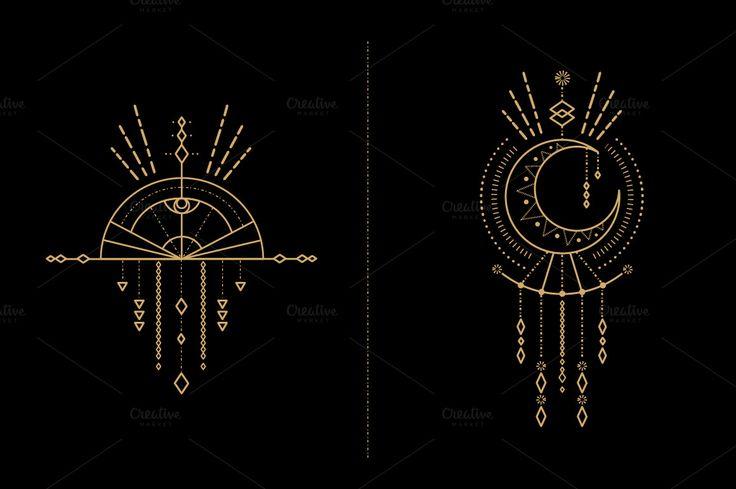 Mandala Set - Tribal Shaman by skyboxcreative on @creativemarket