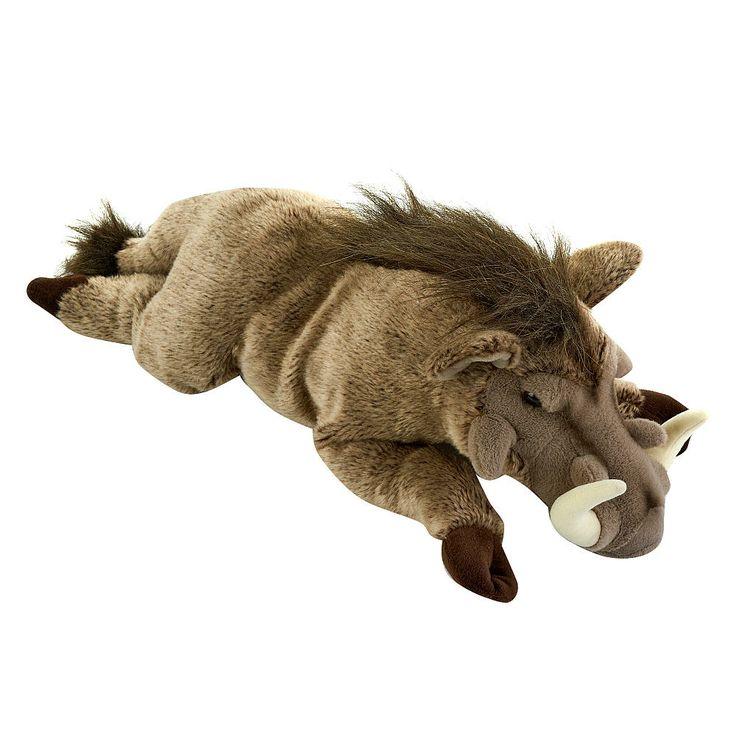 Toys R Us Animals : Fao schwarz inch plush warthog gray