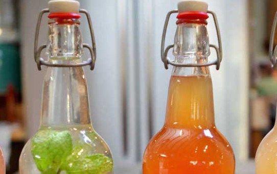 Kefir d'acqua con tè o tisane, ecco come fare