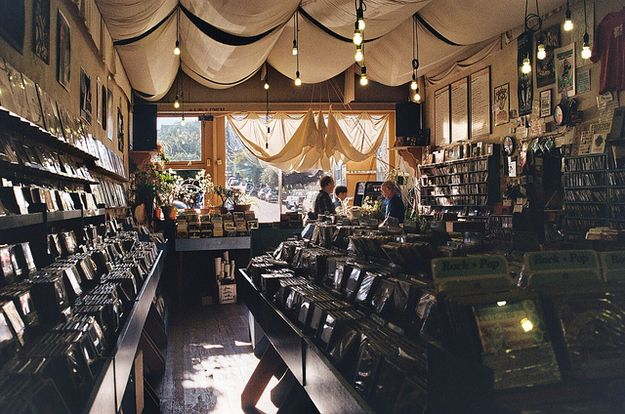 27 Record Stores you Have to Shop at Before You Die -- including Aquarius Records in San Francisco, CA. -- incl. Mississippi Records in Portland, OR -- incl. Love Music in Glasgow, Scotland -- incl. Elastic Witch in Dublin, Ireland