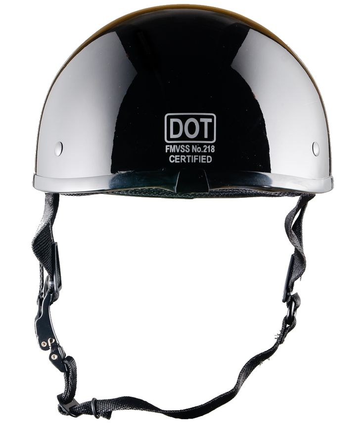 The worl'd smallest motorcycle half helmet that is DOT approved.