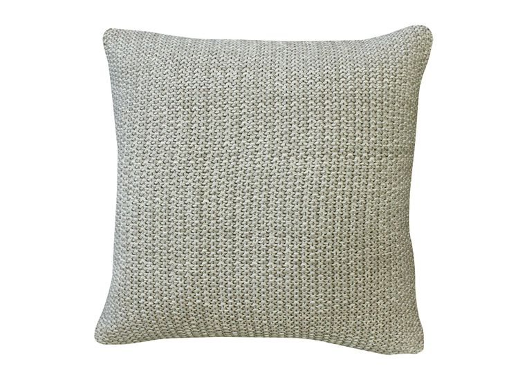 Milford Moss Stitch Stone/Natural Cushion - the Milford Moss Stitch range with textured throws will be perfect for those cold nights or simply adding texture to a living space. A stunning range of gorgeous sophisticated colours to suit your style. Create a coordinated look with the Milford Moss Stitch cushions.