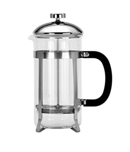 CAFETIERE GLASSSILVER 8 CUP AG17514 -- You can find out more details at the link of the image.