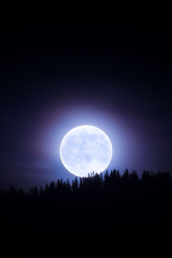 Lune brillante
