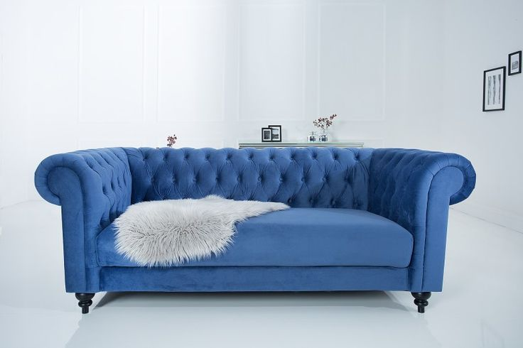 Sedačka CHESTERFIELD SAMET BLUE