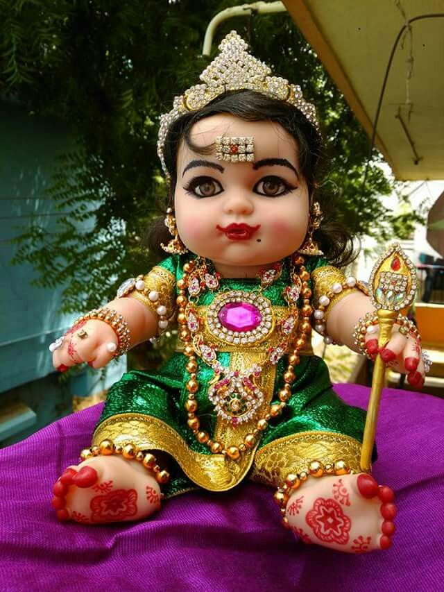Soooo CUte baby doll as bala Subramanyam...........