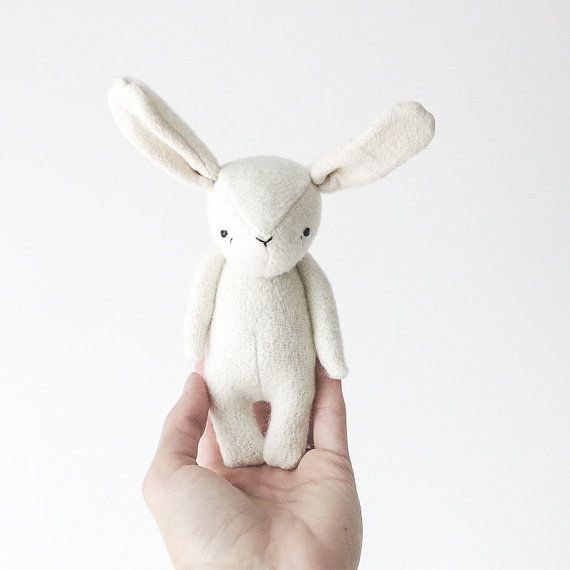 the dear ones | bunny softie (made to order)