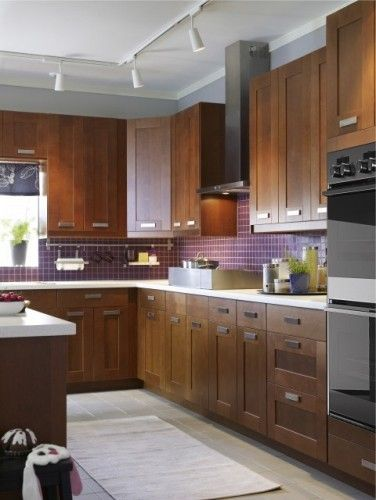 149 best natural wood kitchens images on pinterest for Modern kitchen cabinets ikea