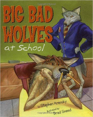 A new fun way to teach about class rules at the beginning of the year. Big Bad Wolves at School is a great back to school read-aloud.