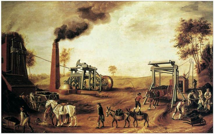 17 beste idee n over industri le revolutie op pinterest kinderarbeid - Bron schilderijen ...