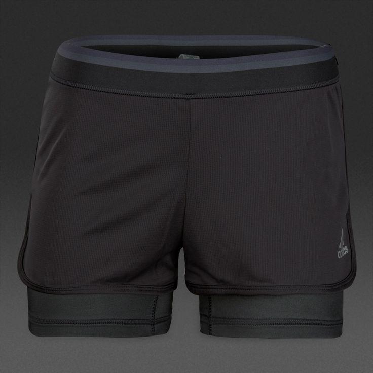 adidas Womens Climachill Shorts - Black