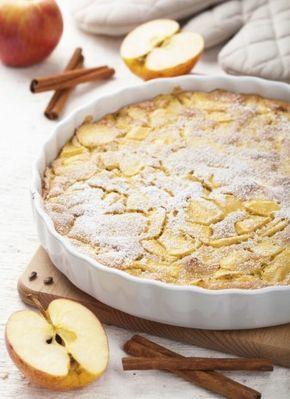 Prajitura cu mere, scortisoara si iaurt! Un deliciu simplu