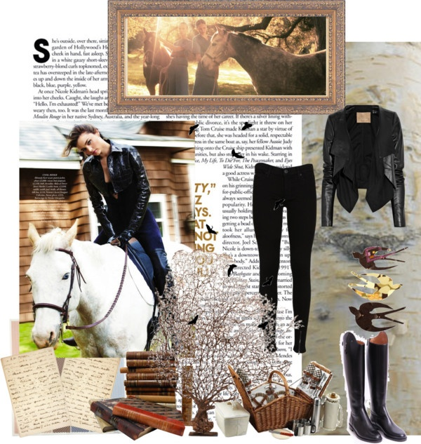 """Fall 2012 Equestrian look"" by sarahghag on Polyvore"