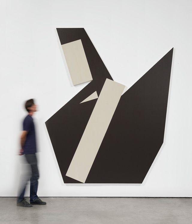 Michael Heizer, Hard Edge Painting no. 5B, 2015–16 , Gagosian