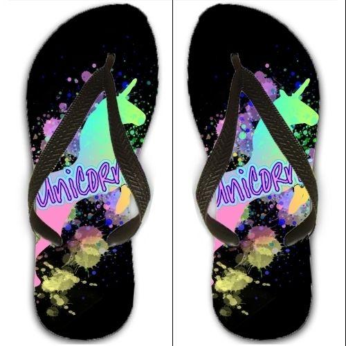 Grabyourdesign Flip Flops Uk Sizes 4 5 6 Rainbow