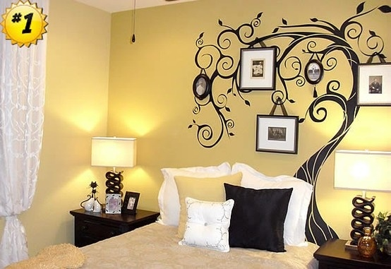 55 best Tree wall Art! images on Pinterest   Family trees, Home ...