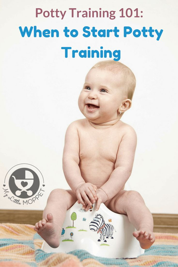 Deciding when to start potty training is one of the most confusing things for a new parent to decide! Here is a guide on the right age to start potty training.