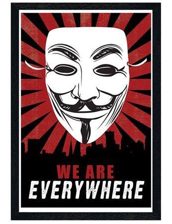 V For Vendetta Posters - Buy Online at PopArtUK.com