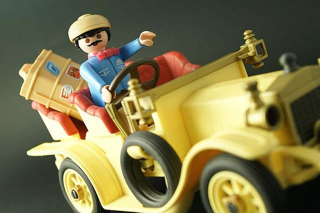 playmobil Let's begin the trip! by Godhay, via Flickr