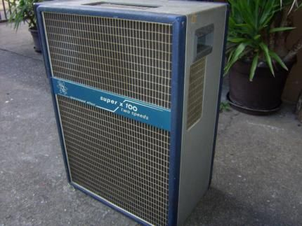 70´s Leslie Spacesound Effect Super X 100 Two Speeds in
