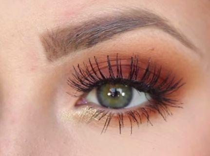 Burnt Orange Eyeshadow Tutorial | AmazingMakeups.com